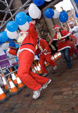 The great christmas pudding race Royalty Free Stock Image