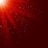 Great christmas texture with shining stars. EPS 10. Great christmas texture with shining stars and rays. EPS 10 vector file included Royalty Free Stock Image