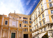 Great church in center of Rome, Italy Royalty Free Stock Photography