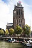 The Great Church in Dordrecht, Netherlands Stock Photos