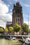 The Great Church in Dordrecht, Netherlands Royalty Free Stock Image