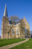 Great church in the historical city Harlingen Royalty Free Stock Photos