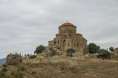 Great Church of Jvari or Jvari Monastery is the georgian orthodo. X monastery located near Mtskheta, Georgia Stock Photos