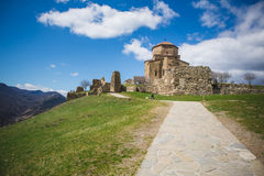 Great Church of Jvari in Mtskheta, Georgia Stock Photography