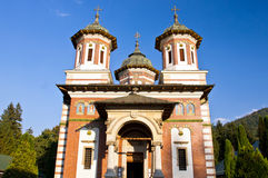 The Great Church at the Sinaia Monastery. Romania stock images
