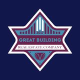 Great city building vector label Royalty Free Stock Image