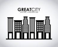 Great city Stock Photo