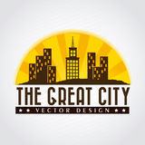 The great city Stock Photo
