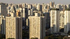 Great city of the world, Itaim Bibi neighborhood, city of São Paulo, Brazil. South America royalty free stock photo