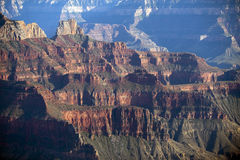 Great cliffs of the Grand Canyon, Arizona Stock Image