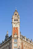 Great clock of Lille, Paris Opera House (North France) Stock Photo