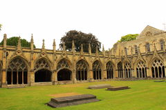 Great cloister Canterbury Cathedral Royalty Free Stock Photo