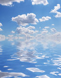 Great cloudscape as background Royalty Free Stock Images