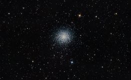 Great cluster M13 stock photos