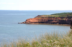 Great Coast Line in PEI Stock Images