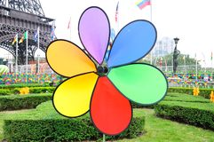 Great color artificial petals Stock Photography
