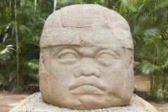 Great Colossal Head Olmec culture La Venta Villahermosa Tabasco Mexico
