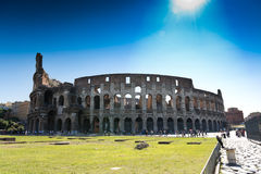 Great Colosseum, Rome, Italy Royalty Free Stock Photo