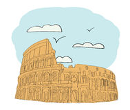 Great Colosseum, Rome, Italy Stock Photography