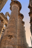 Great columns in Karnak Royalty Free Stock Photography