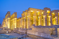 The great columns Stock Image