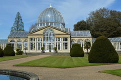 Great conservatory at Syon Park. Royalty Free Stock Photography