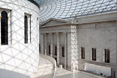 The Great Court of the British Museum Stock Photography