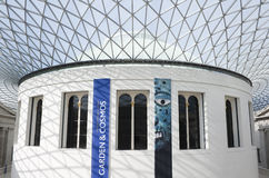 The Great Court in the British Museum in London Stock Image