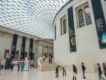 Great Court of British Museum Stock Photo