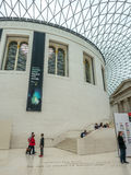 Great Court of British Museum Royalty Free Stock Images