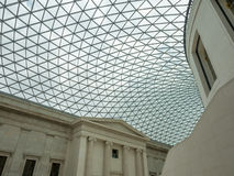 Great Court of British Museum Stock Photography