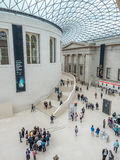 Great Court of British Museum Royalty Free Stock Photos