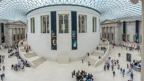 Great Court of British Museum Stock Photos