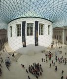 Great Court at the British Museum in London Stock Photo
