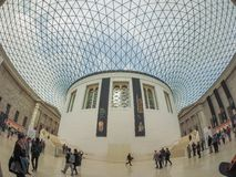 Great Court at the British Museum in London Stock Photos