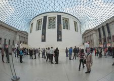 Great Court at the British Museum in London Royalty Free Stock Photography