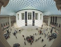 Great Court at the British Museum in London Royalty Free Stock Photos