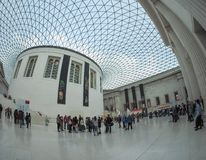 Great Court at the British Museum in London Royalty Free Stock Image