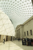 Great Court inside the British Museum, London Royalty Free Stock Photo