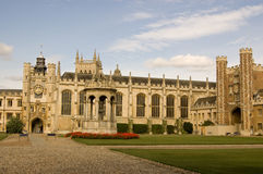 Great Court, Trinity College, Cambridge Stock Images