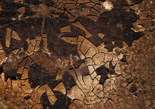 Great crack background Royalty Free Stock Photography
