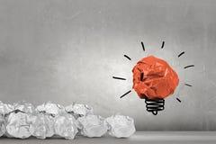 Great creative idea Stock Photo