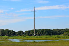 Great Cross of St. Augustine Royalty Free Stock Photography