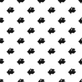 Great dane dog pattern, simple style Royalty Free Stock Image