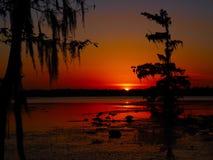 Lake Martin sunset Stock Image