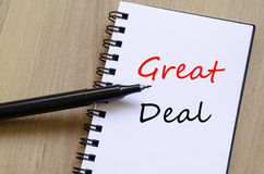 Great Deal Concept Stock Images