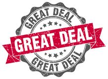 Great deal stamp Stock Image