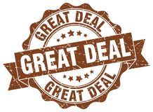 Great deal stamp Royalty Free Stock Photo