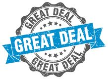 Great deal stamp Royalty Free Stock Photography