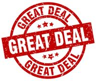 Great deal stamp Stock Photography